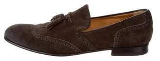 Gucci Brogue Tassel Loafers