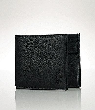 Polo Ralph LaurenPolo Ralph Lauren Pebbled Leather Billfold