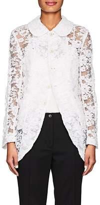 Comme des Garcons Women's Tulle & Floral Lace Jacket