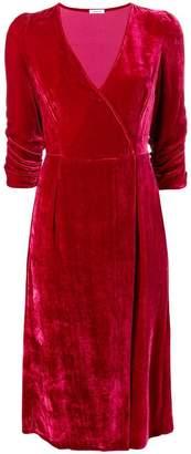 P.A.R.O.S.H. v-neck velvet dress