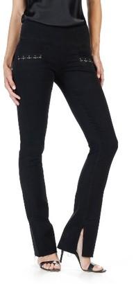 Women's Rosie Hw X Paige Shiloh Slim Flare Jeans $298 thestylecure.com