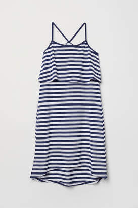 H&M Dress with Braided Straps - White