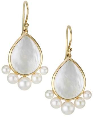 97d1b5b07 Ippolita Nova 18K Yellow Gold Mother-Of-Pearl Drop Earrings