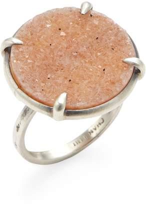 Chan Luu Women's Agate Disc Statement Ring