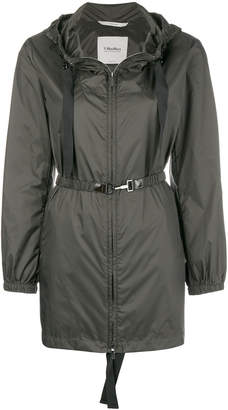 Max Mara 'S ruched detail water-resistant jacket