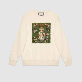 Gucci (グッチ) - 〔ヒグチユウコ〕日本限定 コレクション オーバーサイズ スウェットシャツ