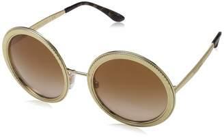 Dolce & Gabbana Women's DG2179 /Brown Gradient Sunglasses