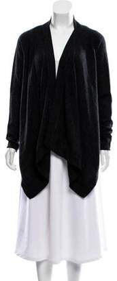 Magaschoni Open-Front Knit Cardigan
