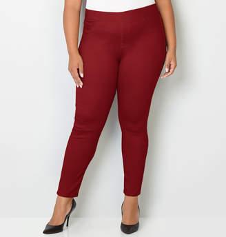 Avenue Butter Denim Pull-On Skinny Jean in Brick