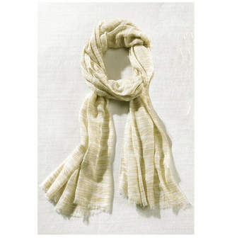 BEIGE Giftcraft Inc. Woven Scarf