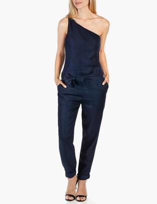 Rosie HW x PAIGE Collection Maisie Jumpsuit - Indigo Blue $249 thestylecure.com