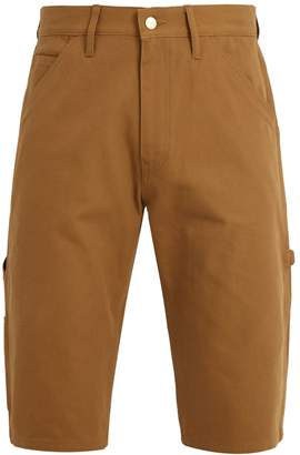 Junya Watanabe X Carhartt contrast-pocket cotton-duck shorts