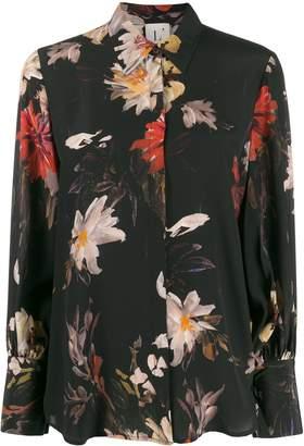 L'Autre Chose floral print shirt