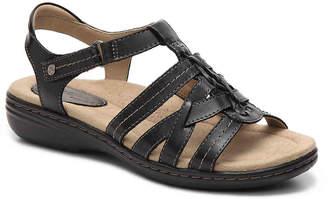 Women's Katrina Gladiator Sandal -Brown/Burgundy/Olive $90 thestylecure.com