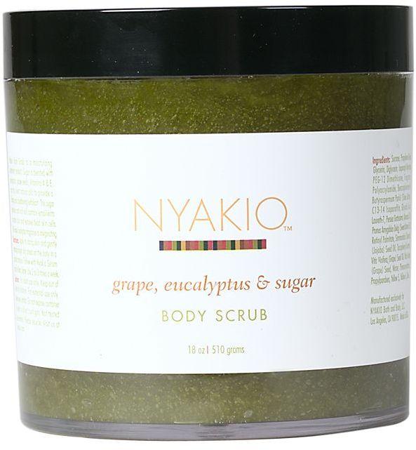 Nyakio Grape, Eucalyptus & Sugar Body Scrub