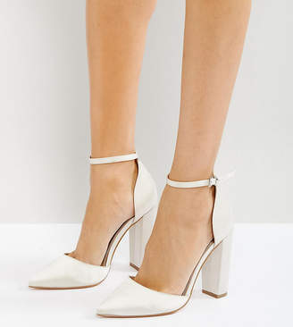 Asos Design PENALTY Bridal Pointed High Heels