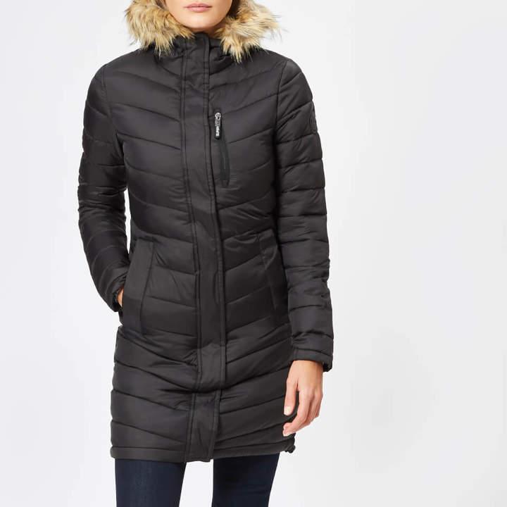 Women's Chevron Faux Fur Super Fuji Jacket