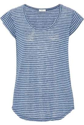Joie Neyo Striped Linen-Jersey T-Shirt