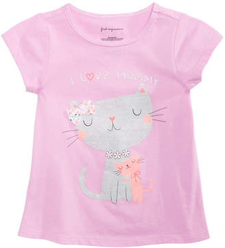 First Impressions Baby Girls Spring Graphic T-Shirt