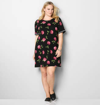 At Avenue Rose Tennis A Line Dress