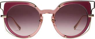 MCM Frame-in-frame Cat Eye Sunglasses