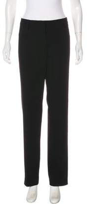 Ter Et Bantine Virgin Wool Mid-Rise Pants Black Virgin Wool Mid-Rise Pants
