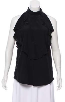 Givenchy Sleeveless Silk Top