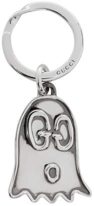 bb3b13158710 Gucci Silver Life Is GucciGhost Keychain