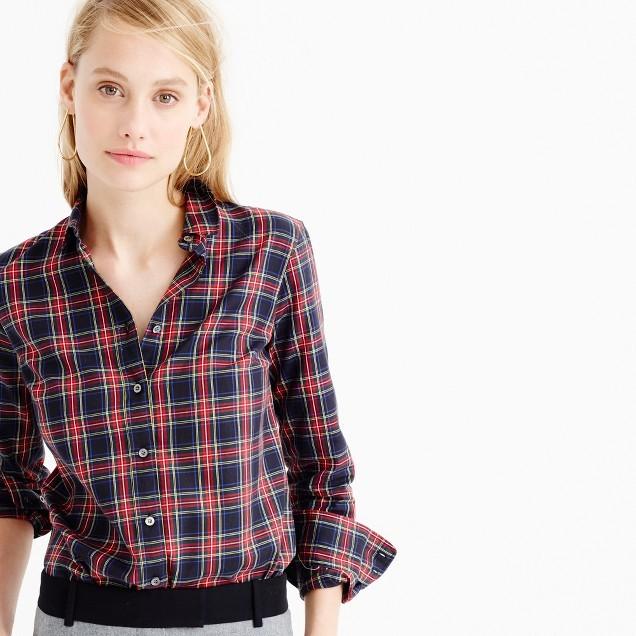 J.CrewThomas Mason® flannel shirt in Stewart plaid