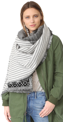 Madewell Patchwork Scarf $60 thestylecure.com