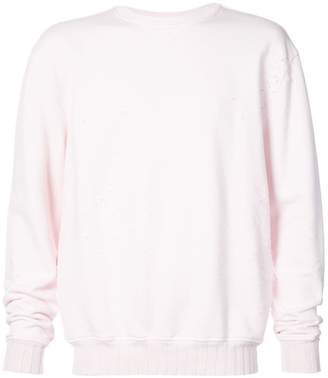 Amiri Shotgun crew neck sweatshirt