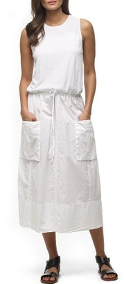 Women's James Perse Parachute Cotton Midi Dress $325 thestylecure.com