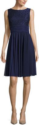 JESSICA HOWARD Jessica Howard Sleeveless Lace Dress $66.99 thestylecure.com