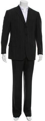 Ralph Lauren Signature Label Pinstripe Virgin Wool Two-Piece Suit w/ Tags