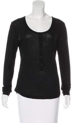 J Brand Knit Long Sleeve Top
