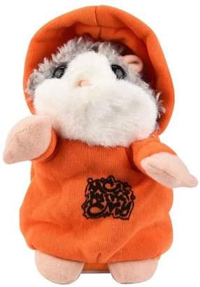 Banstore Adorable Interesting Speak Talking Record Hamster Mouse Plush Kids Toys