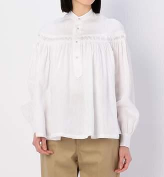 BSHOP (ビショップ) - ビショップ 【Scye】長袖リネンタックシャツ WOMEN
