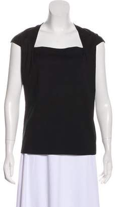 Lafayette 148 Square Neck Sleeveless Top w/ Tags