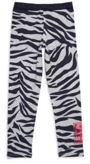 Kenzo Toddler's, Little Girl's& Girl's Printed Striped Leggings