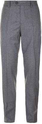 Brunello Cucinelli Flat Front Wool Chinos