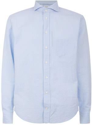 Eton Striped Seersucker Slim Fit Shirt