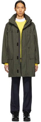 Yves Salomon Green Army Raincoat