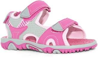 Khombu Kids' Girls River Sandal, - Walking Hiking Casual Summer Shoes (4, )