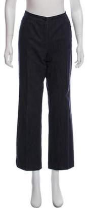 Akris Mid-Rise Wide-Leg Jeans blue Mid-Rise Wide-Leg Jeans