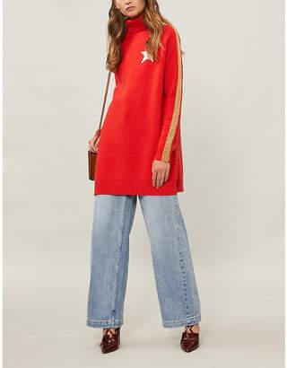 Bella Freud Billie Jean cashmere-blend jumper