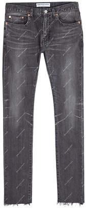 Balenciaga Printed Jeans