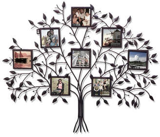 Andover Mills 8 Opening Decorative Family Tree Wall Hanging Collage Picture Frame