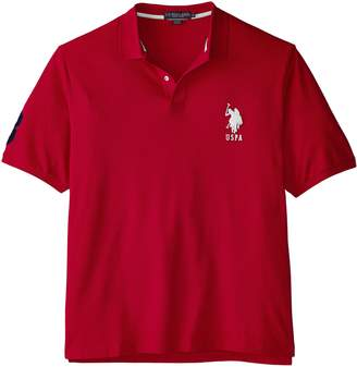 U.S. Polo Assn. Men's Big-Tall Solid Pique Polo