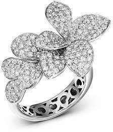 In Fiore Pasquale Bruni 18K White Gold Stelle Diamond Ring
