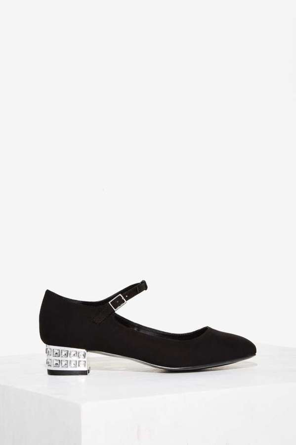 Love, Courtney by Nasty Gal Miss Narcissist Mary Jane Flat